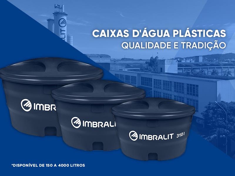 Caixa d'água Plástica Imbralit: qualidade e economia no armazenamento