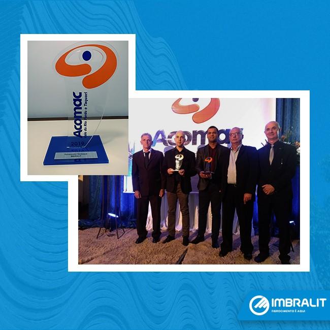 Prêmio Fornecedor Destaque da Acomac – Vale do Rio Pardo e Taquari (RS)